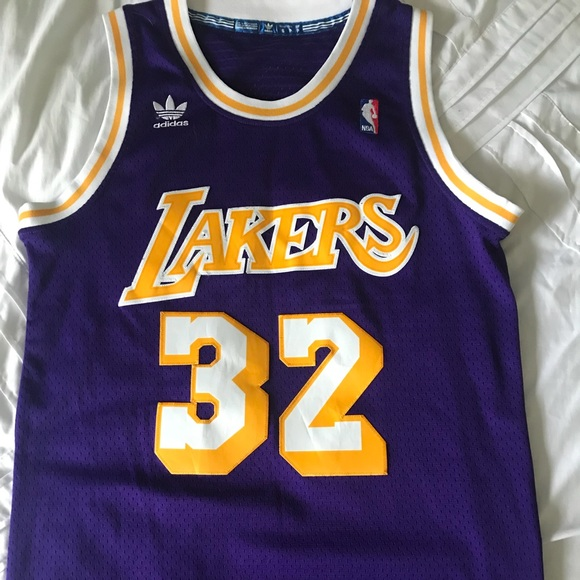 best sneakers 28238 bb24d Los Angeles Lakers Jersey: Magic Johnson